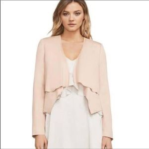 {BCBGeneration} ANIA Jacket, NWT Bare Pink, Small